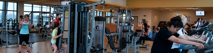 Fitness Centre at Welland Campus